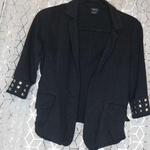 Black and studed blazer